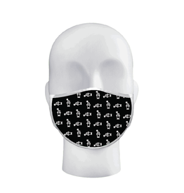 Firecracker Dude Mask Black/White