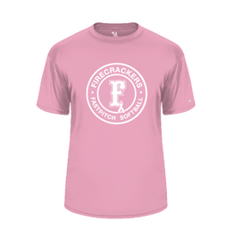 badger 2020 Breast Cancer Dri-fit LIGHT PINK
