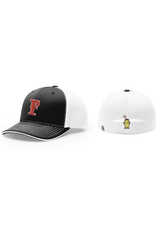 Richardson FC Trucker Fitted Hat (Black/White)