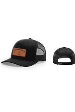Leather Patch Snapback (Rectangle)