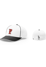FC Trucker Fitted Hat (White)