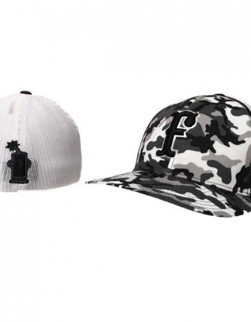 pacific headwear FC Trucker Fitted Hat (Camo)
