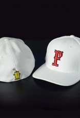 pacific headwear Performance Cap (White/Red)
