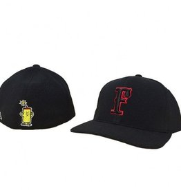 pacific headwear Performance Cap (All Black/Red Outline)