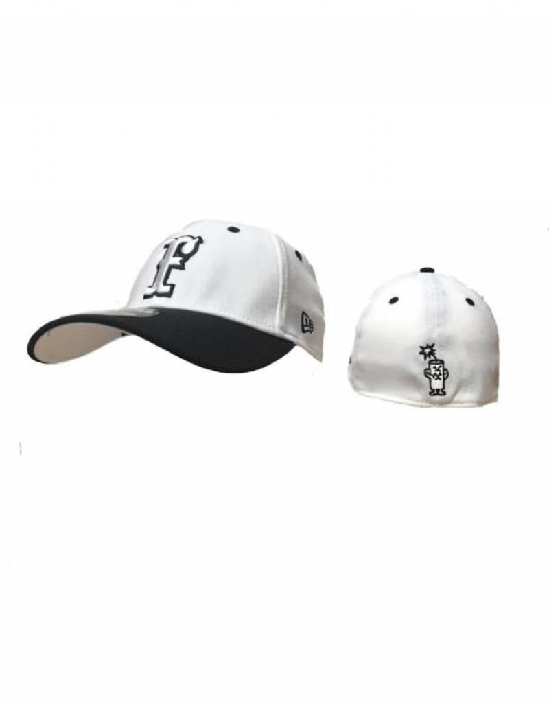 3930 New Era Sized Hat White/Black