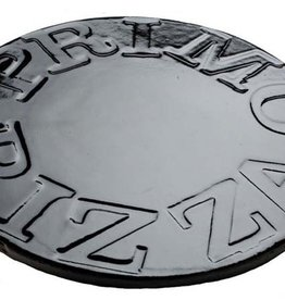 "Primo Ceramic Grills Primo 16"" Glazed Ceramic Baking Stone for Oval XL 400, LG 300 & Kamado"