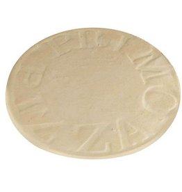 Primo Ceramic Grills Primo 16'' Natural Finish Ceramic Baking Stone for Oval XL 400, LG 300 & Kamado