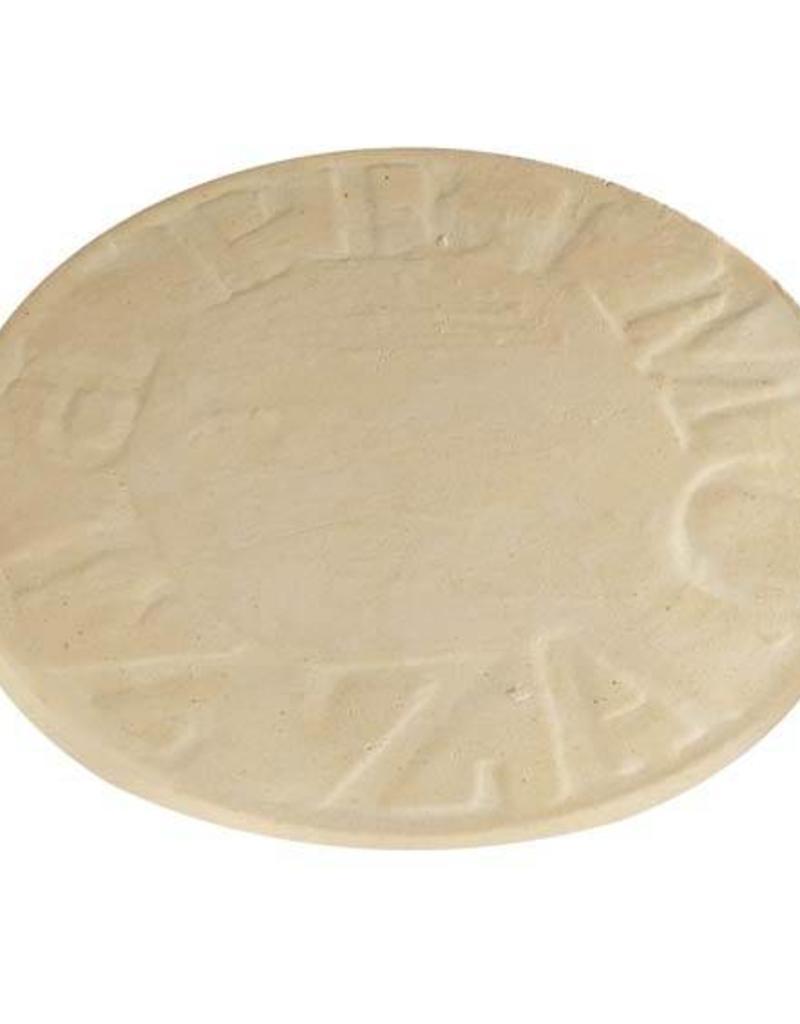 "Primo Ceramic Grills Primo 16"" Natural Finish Ceramic Baking Stone for Oval XL 400, LG 300 & Kamado"