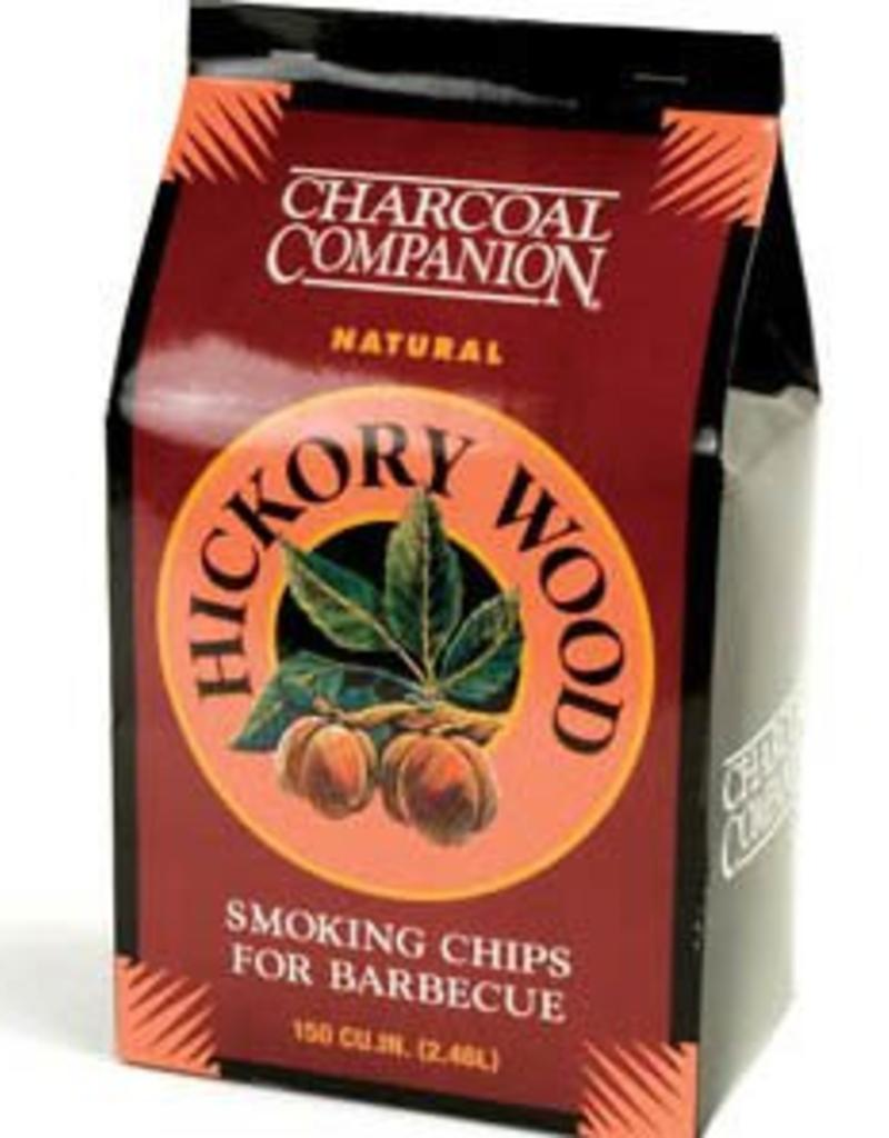 Charcoal Companion Hickory Wood Smoking Chips for BBQ / 144 cu.in.