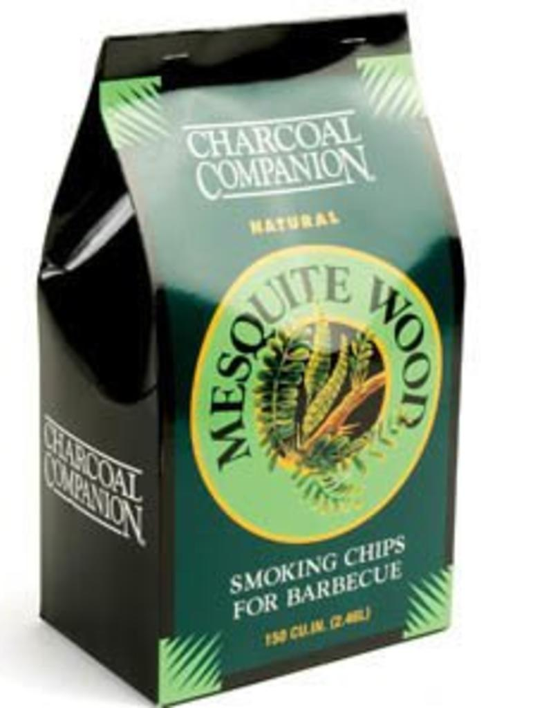 Charcoal Companion Mesquite Wood Smoking Chips for BBQ