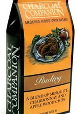 Charcoal Companion Poultry Smoking Wood Chip Blend / 130 cu.in.