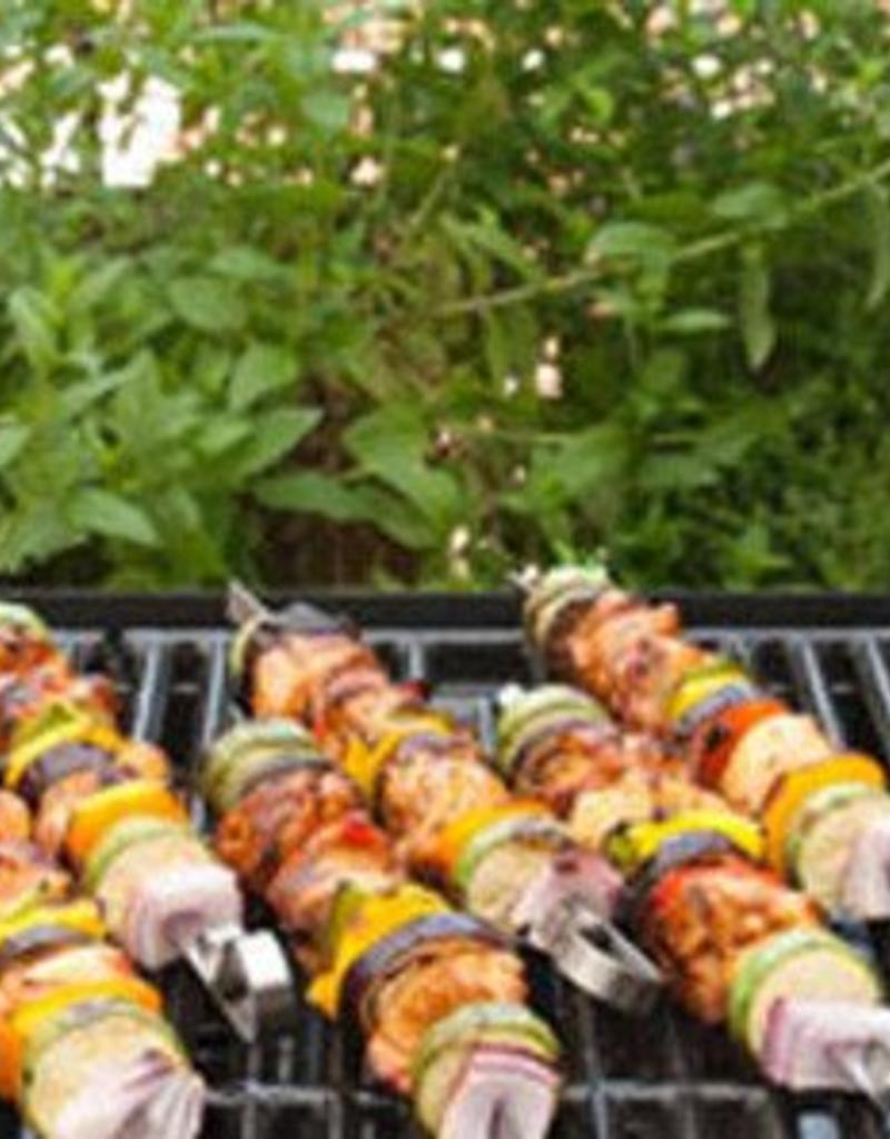 Charcoal Companion Stainless Flat Skewers / Set 6