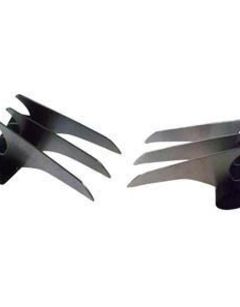 Charcoal Companion Slash & Serve Meat Claws / Pair