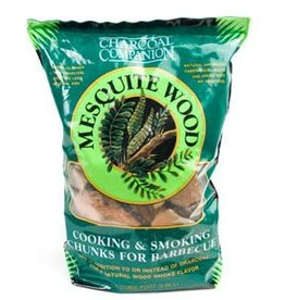 Charcoal Companion Mesquite Cooking & Smoking Wood Chunks