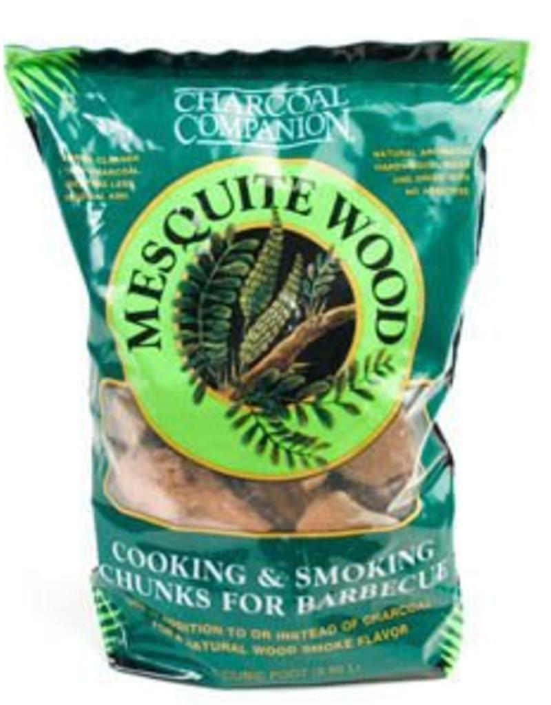 Charcoal Companion Mesquite Cooking & Smoking Wood Chunks