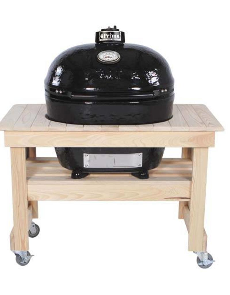 Primo Ceramic Grills Primo Compact Cypress Table for Oval XL 400