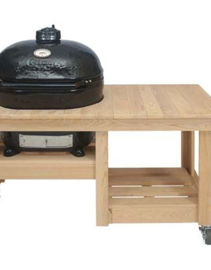 Primo Ceramic Grills Primo Counter Top Cypress Table for Oval XL 400