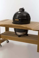 Primo Ceramic Grills Primo Cypress Table for Kamado Round