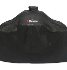 Primo Primo Grill Cover for All Oval Series in Cart w/ SS Shelves or Cypress Compact Table