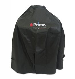Primo Primo Grill Cover for Oval LG 300, Kamado or Oval JR 200 with Heavy Duty Cart