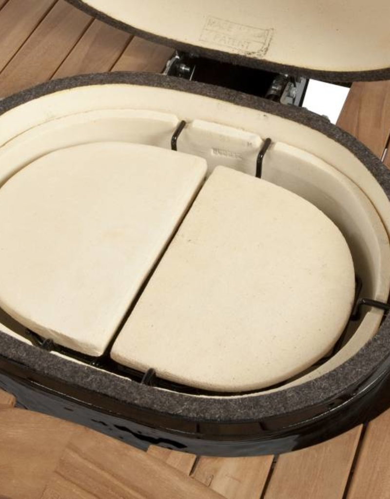 Primo Ceramic Grills Primo Heat Deflector Plates Oval JR 200