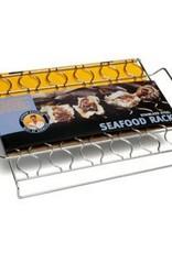 Charcoal Companion Stainless Seafood Rack