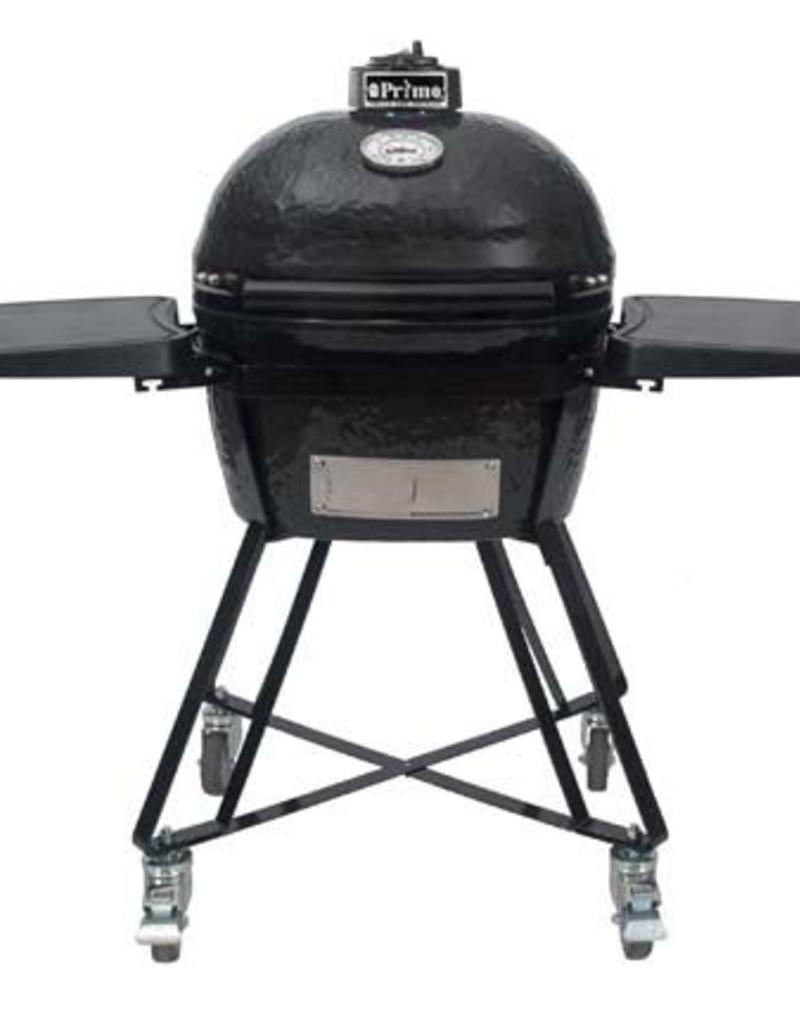 Primo Ceramic Grills Primo Oval JR. 200 All-In-One Grill with Heavy Duty Cart