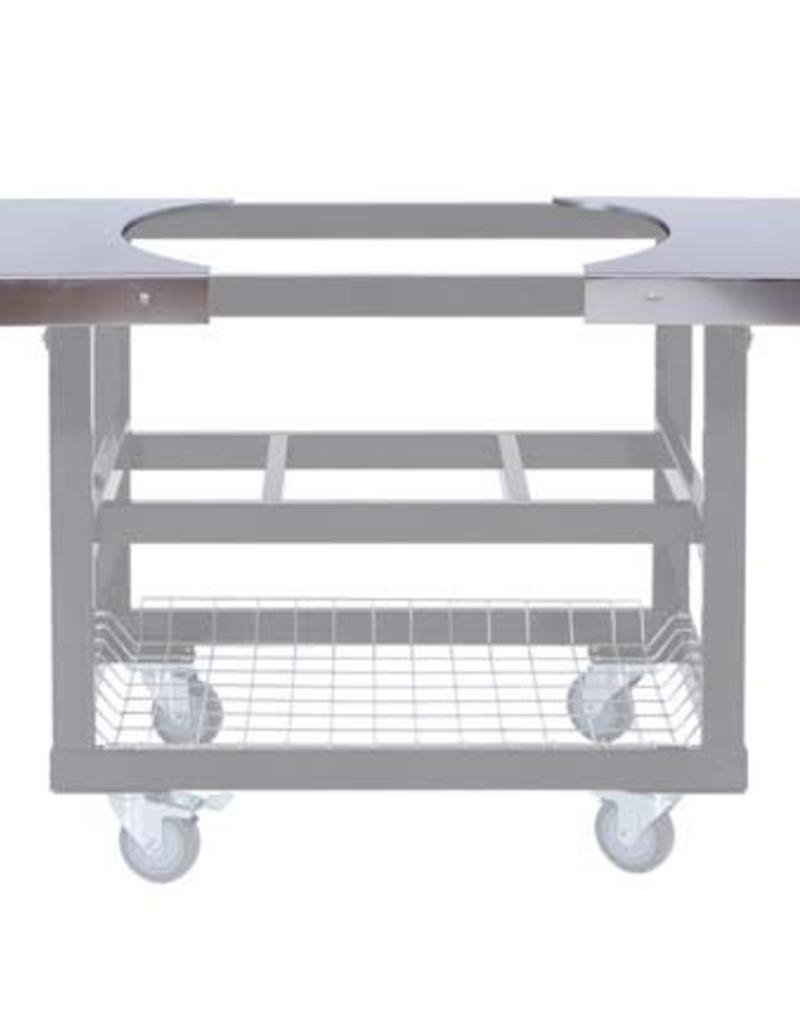 Primo Ceramic Grills Primo Stainless Steel Side Shelves for Oval JR. 200