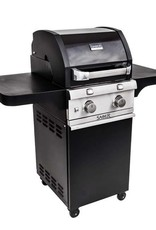 Saber Grills SABER 330 2 Burner Cart Grill - Cast Black - LP