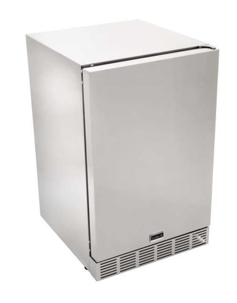 Saber Grills SABER 4.1 Cu. Ft. Outdoor UL-Rated Stainless Steel Refrigerator