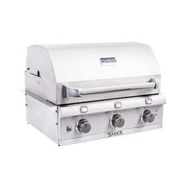 Saber Grills SABER 500 3 Burner Stainless Steel Built-In Grill - Natural Gas