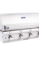 Saber Grills SABER 670 4 Burner Stainless Steel Built-In Grill - Natural Gas