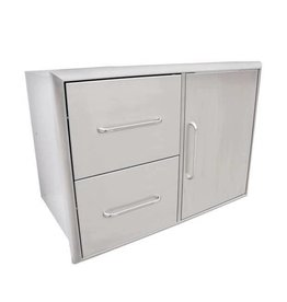 Saber Grills SABER Double-Drawer and Door Combo