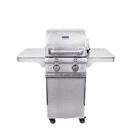 Saber Grills SABER Elite 1330 SSE 2 Burner Cart Grill - Stainless Steel - LP