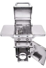 Saber Grills SABER Elite 1330 SSE 2 Burner Cart Grill - Stainless Steel - LP