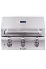 Saber Grills SABER Elite 1500 SSE 3 Burner Built-In Grill - Stainless Steel - Natural Gas