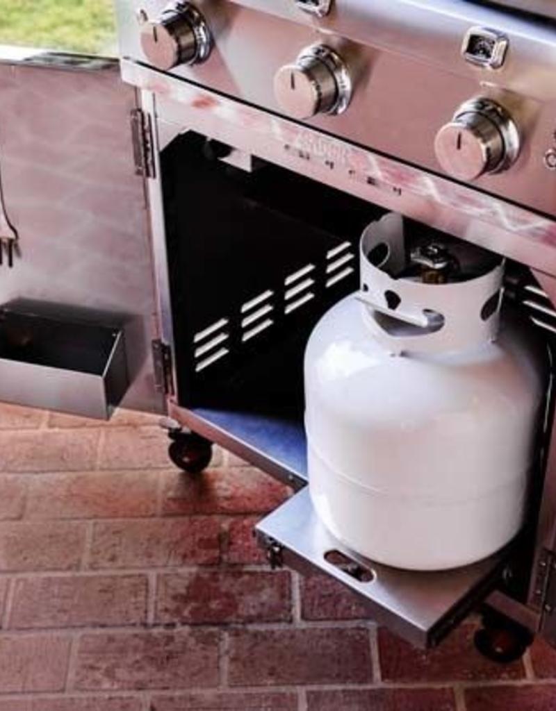 Saber Grills SABER Elite 1500 SSE 3 Burner Cart Grill - Stainless Steel - LP