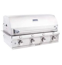 Saber Grills SABER Elite 1670 SSE 4 Burner Built-In Grill - Stainless Steel - Natural Gas