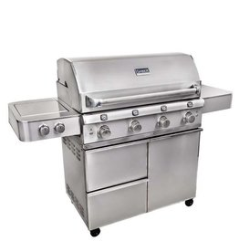 Saber Grills SABER Elite 1670 SSE 4 Burner Cart Grill - Stainless Steel - LP