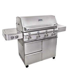 Saber Grills SABER Elite 1670 SSE 4 Burner Cart Grill - Stainless Steel - LP