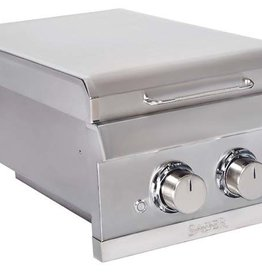 Saber Grills SABER Elite SSE Dual Control Built-In Side Burner -  Natural Gas