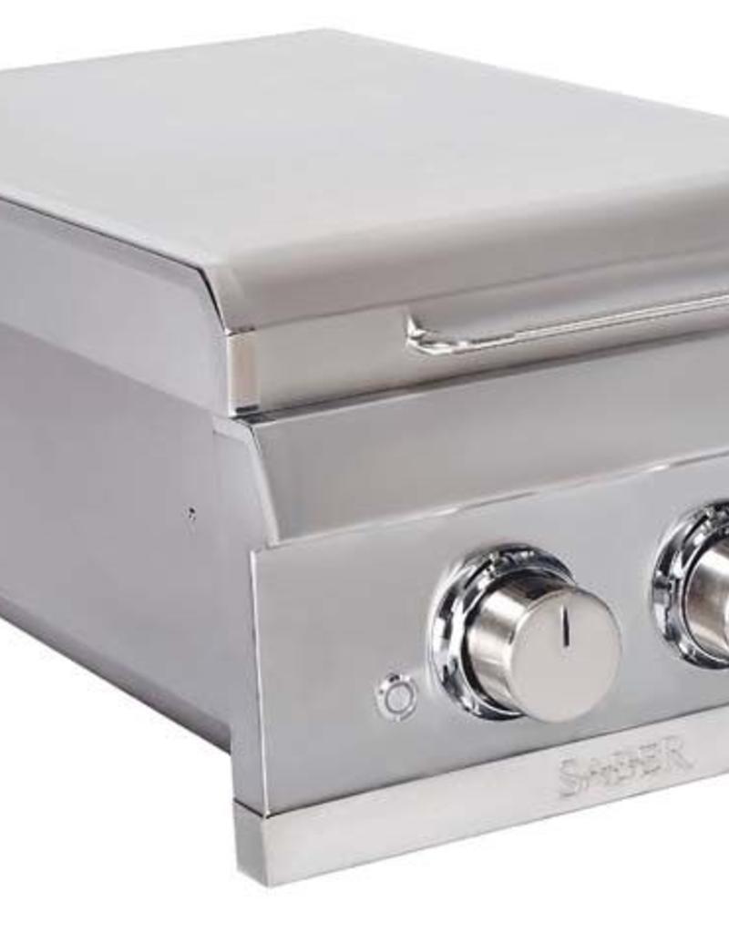 Saber Grills SABER Elite SSE Dual Control Built-In Side Burner -  Natural Gas