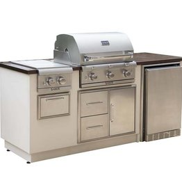 Saber Grills SABER R Series EZ Island - Copper Vein Top/Sandy Shore Base