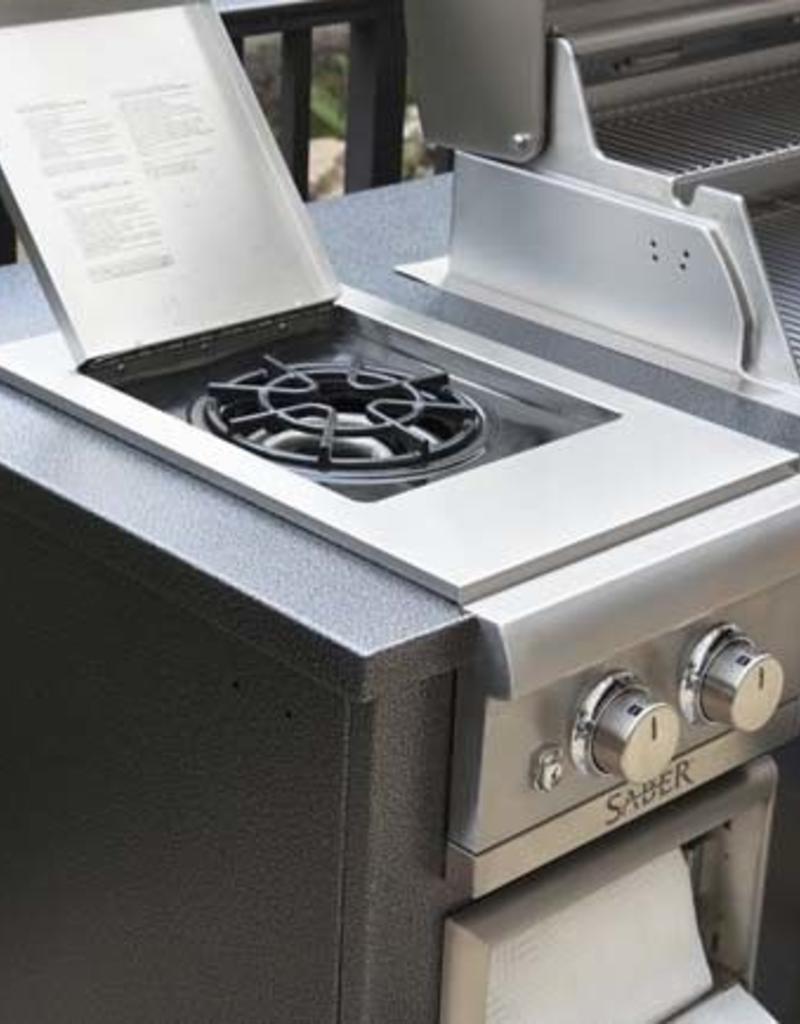 Saber Grills SABER R Series EZ Island - Silver Vein Top/Base