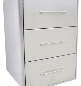 Saber Grills SABER Triple-Drawer Cabinet