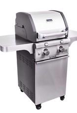 Saber Grills SABER 330 2 Burner Cart Grill - Cast and Stainless - LP