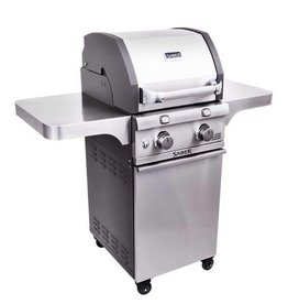 Saber Grills SABER 330 2 Burner Cart Grill - Cast and Stainless - LP