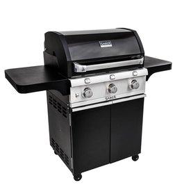 Saber Grills SABER 500 3 Burner Cart Grill - Cast Black - LP