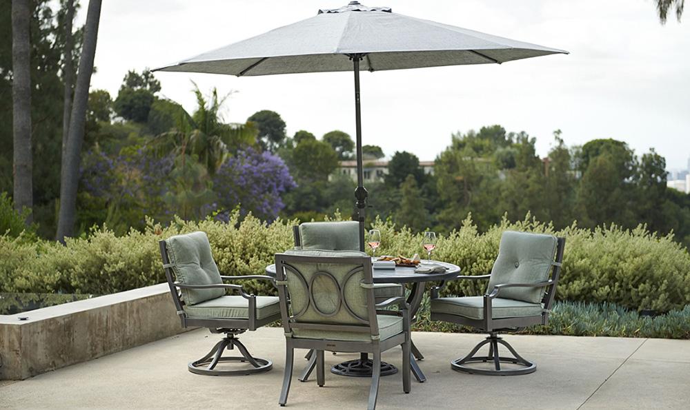 Portica Aragon Cushion Outdoor Dining Set