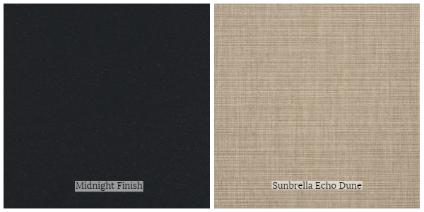 Portica Seville Collection Fabric Frame Swatches
